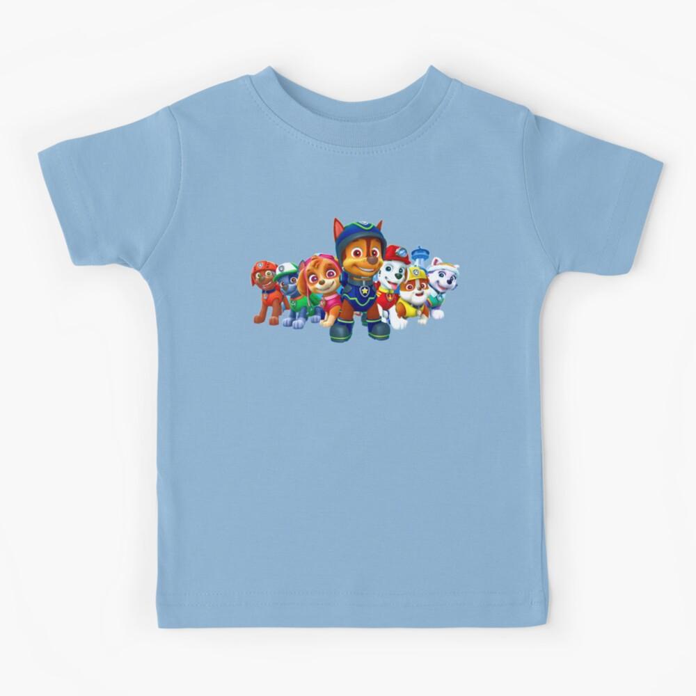 Paw Patrol characters team Kids T-Shirt