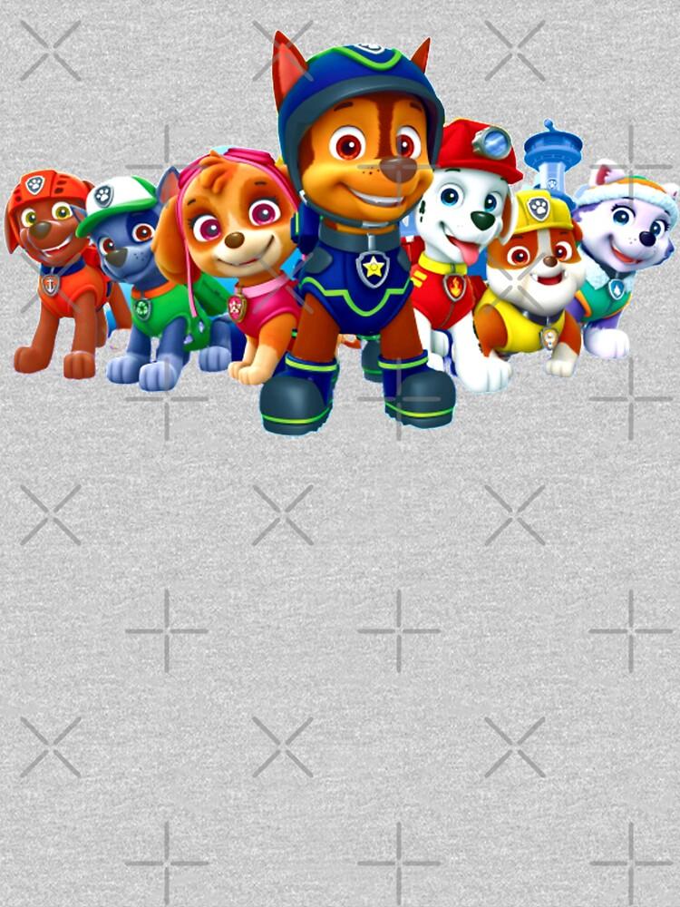 Paw Patrol characters team by StefaniaAlina