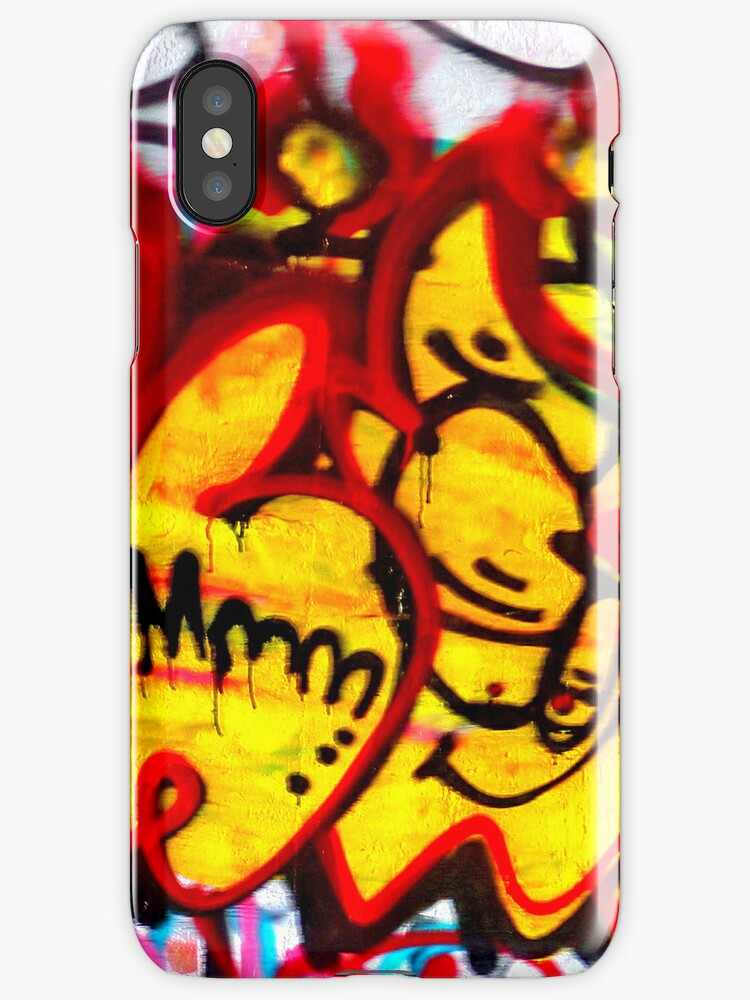 NYC Grafitti 1 iphone case 3 by andytechie