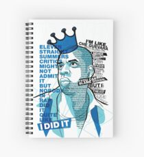 Jay-Z Eleven Straight Summers Spiral Notebook
