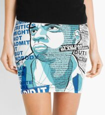Jay-Z Eleven Straight Summers Mini Skirt