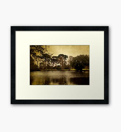 Castle Lake Framed Print