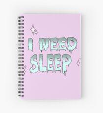 Cuaderno de espiral Sleepyy ( ̄へ ̄)