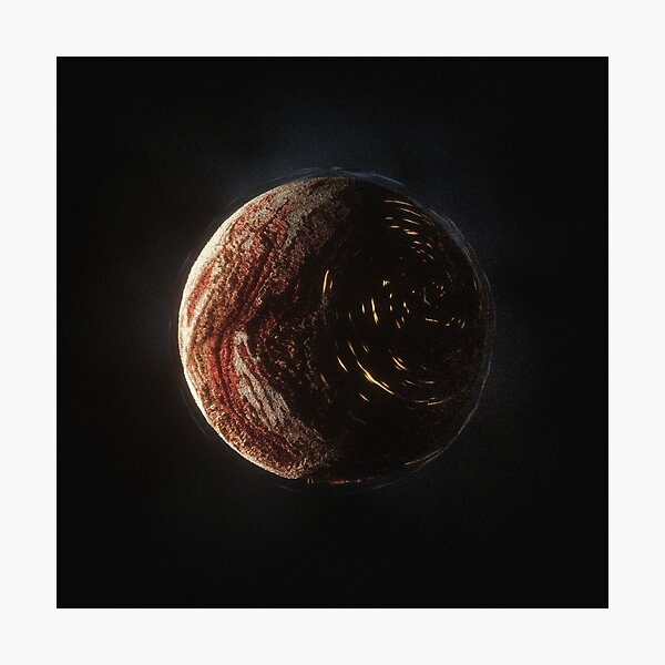 Terra Cotta a planet from Project Solari Photographic Print