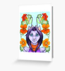Fey Kitty Greeting Card