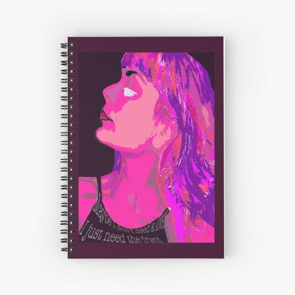No Lover - Jetty Bones  Spiral Notebook