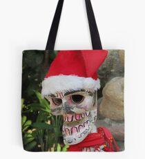 La Catrina as Santa Claus, Puerto Vallarta, Mexico Tote Bag