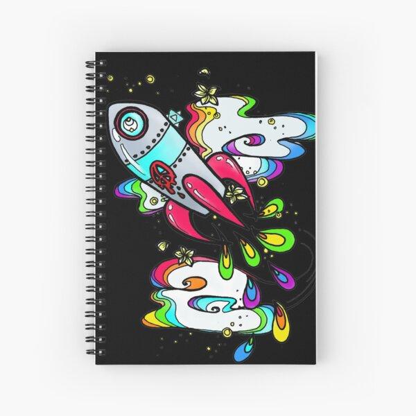 Peace Rocket Spiral Notebook