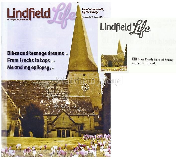 Lindfield Life Cover Picture - Published Work by Matthew Floyd