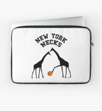 New York Necks (for light-colored shirts) Laptop Sleeve