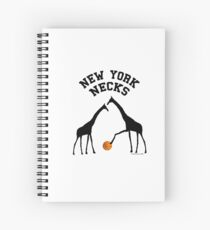 New York Necks (for light-colored shirts) Spiral Notebook