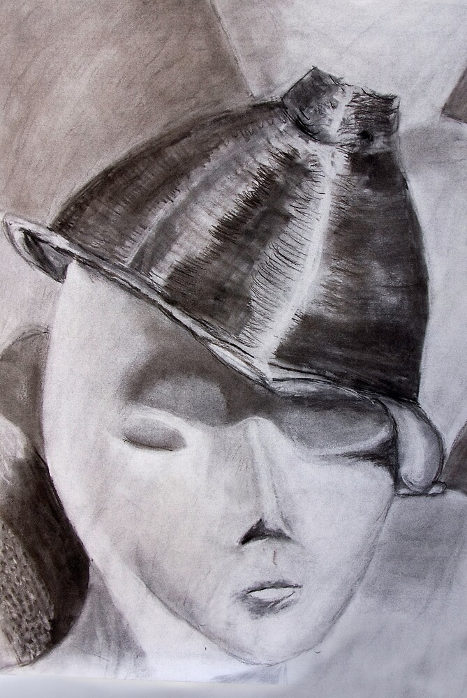 Charcoal Sketch by Joy  Rector