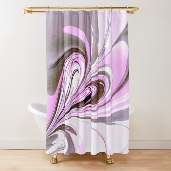 ''Light Hearted'' Shower Curtain