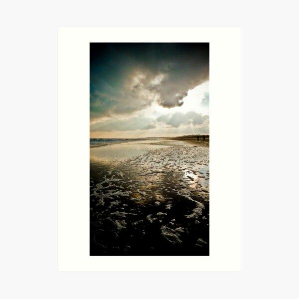 Wexford, Ireland, Curracloe Beach, New Years Day 2009  Art Print