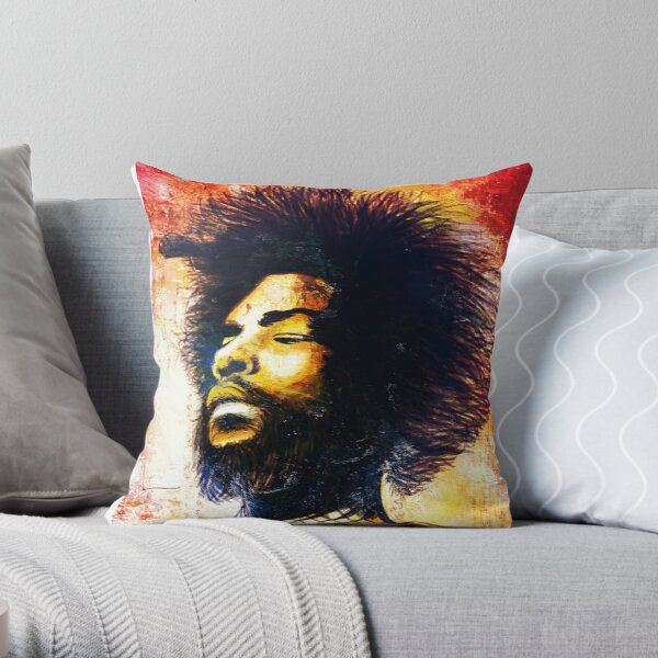 Questlove Throw Pillow