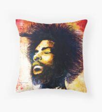 Questlove Throw Pillow