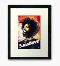 Questlove Framed Print