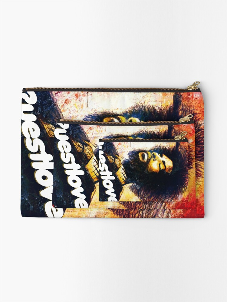 Alternate view of Questlove Zipper Pouch