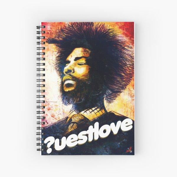 Questlove Spiral Notebook
