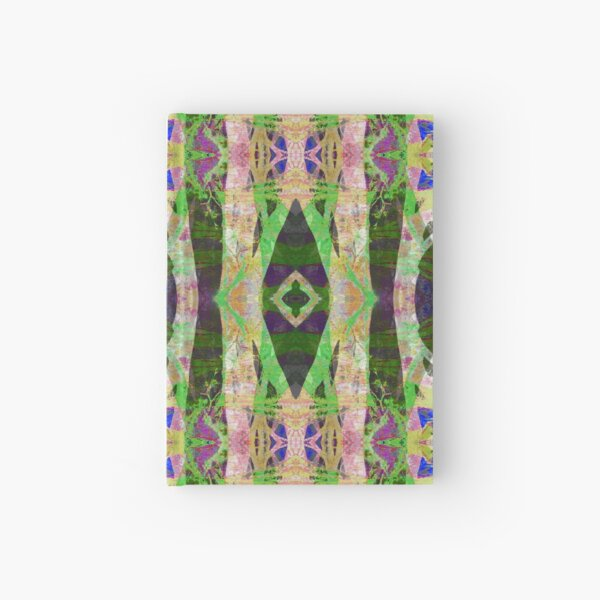 Abstract Tree Crossing Hardcover Journal