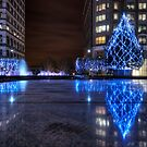 City Christmas Lights by timmburgess