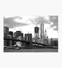 Brooklyn Bridge Park Photographic Print