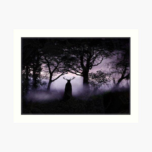 Shadow of Herne Art Print