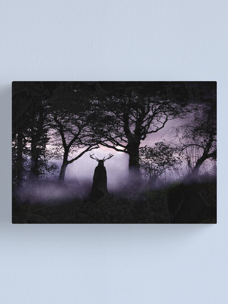 Alternate view of Shadow of Herne Canvas Print