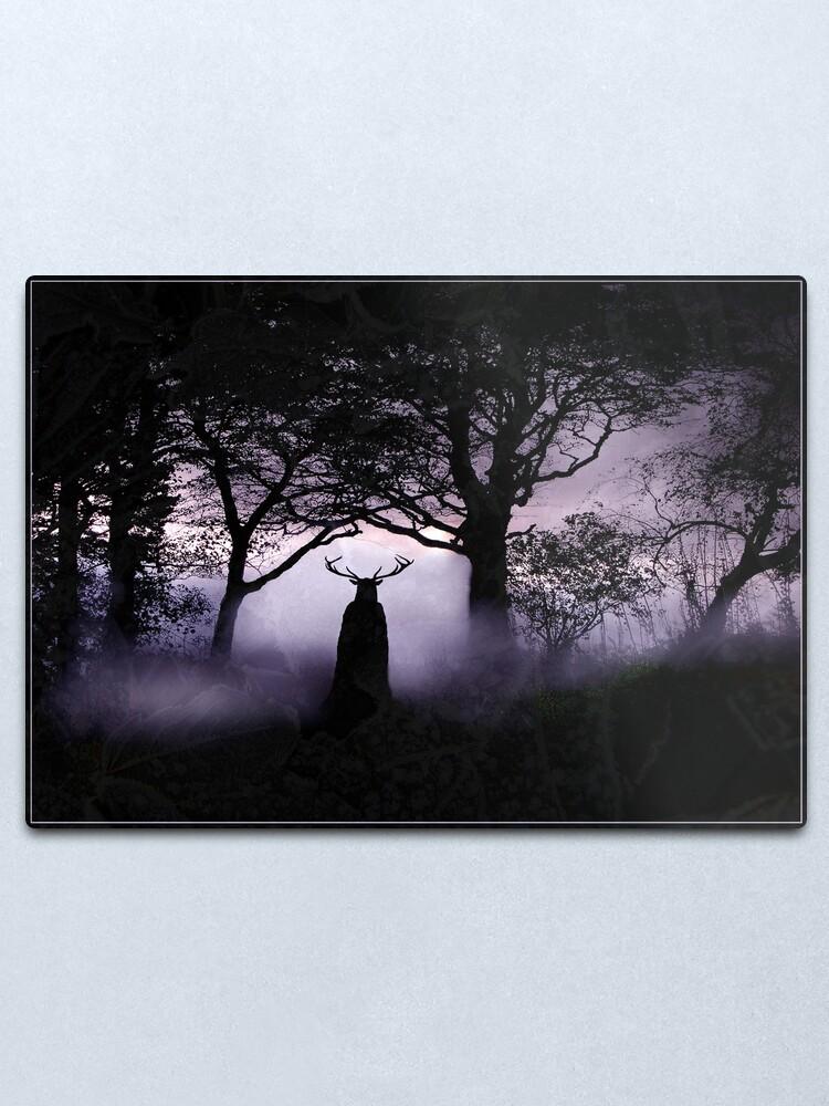 Alternate view of Shadow of Herne Metal Print