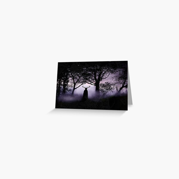 Shadow of Herne Greeting Card