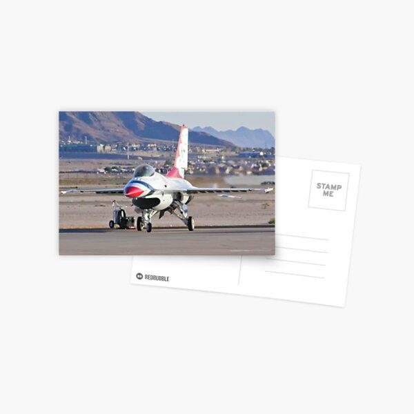 USAF Thunderbird #1 Parking Postcard