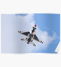 USAF Thunderbirds #6 On Approach Poster