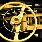In the Driver's Seat-Yellow by Ginadg73