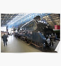 The Mallard at York Railway Museum 2010 Poster