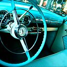 In the Driver's Seat-Turquoise by Ginadg73