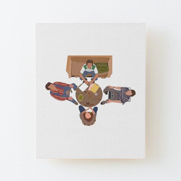 That 70's Circle Wood Mounted Print