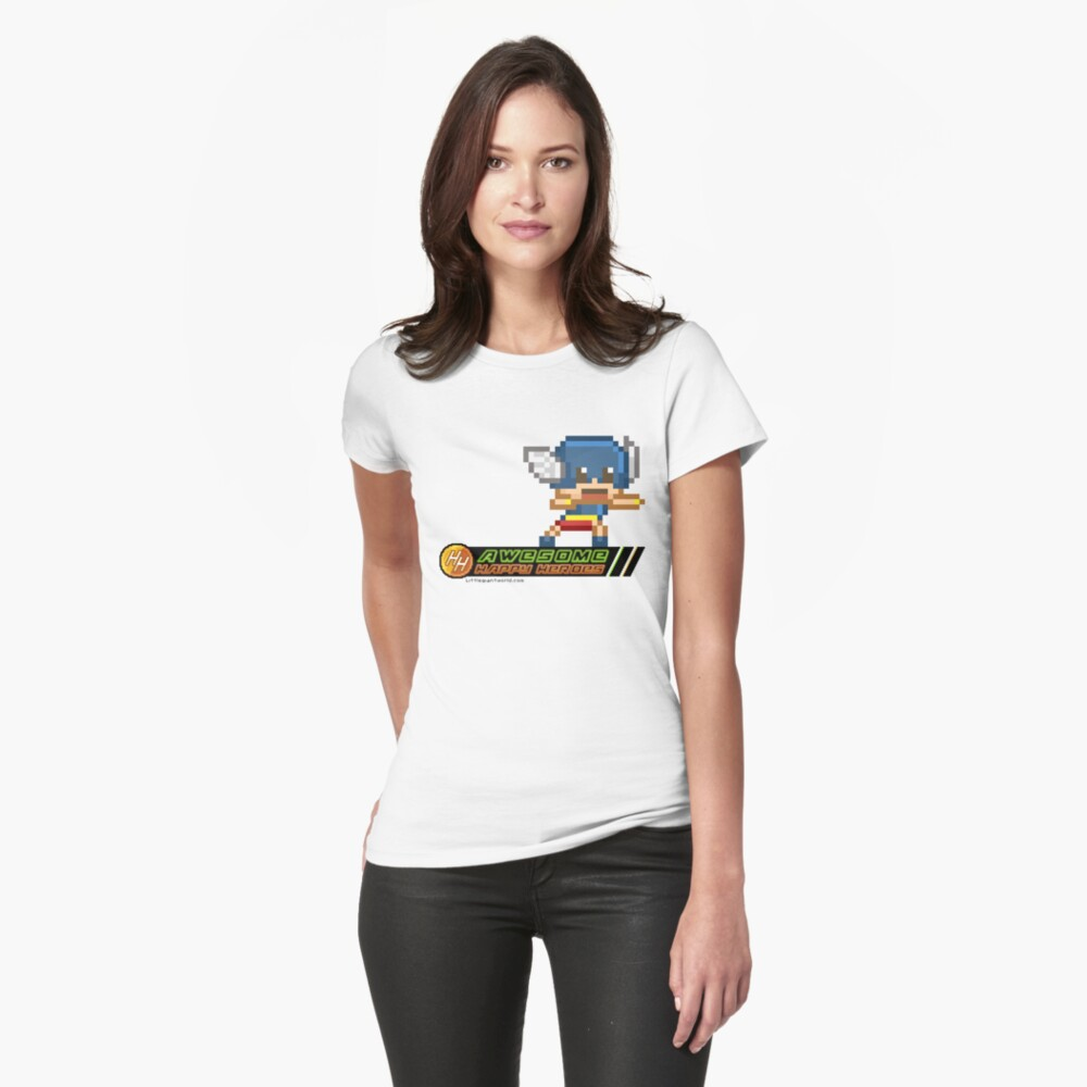 Happy heroes - galaughula Womens T-Shirt Front