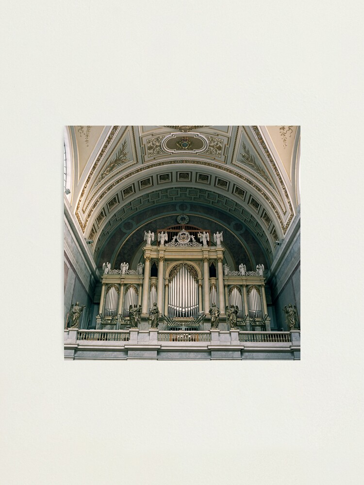 Alternate view of Basilica, Esztergom Hungary Photographic Print