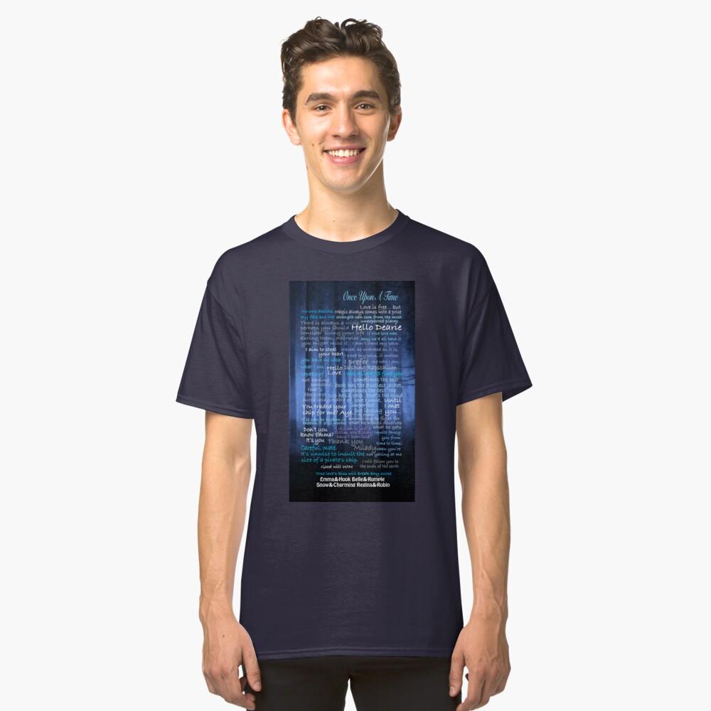 Es war einmal Zitate Classic T-Shirt