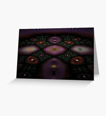 Fractal Fly-over Greeting Card