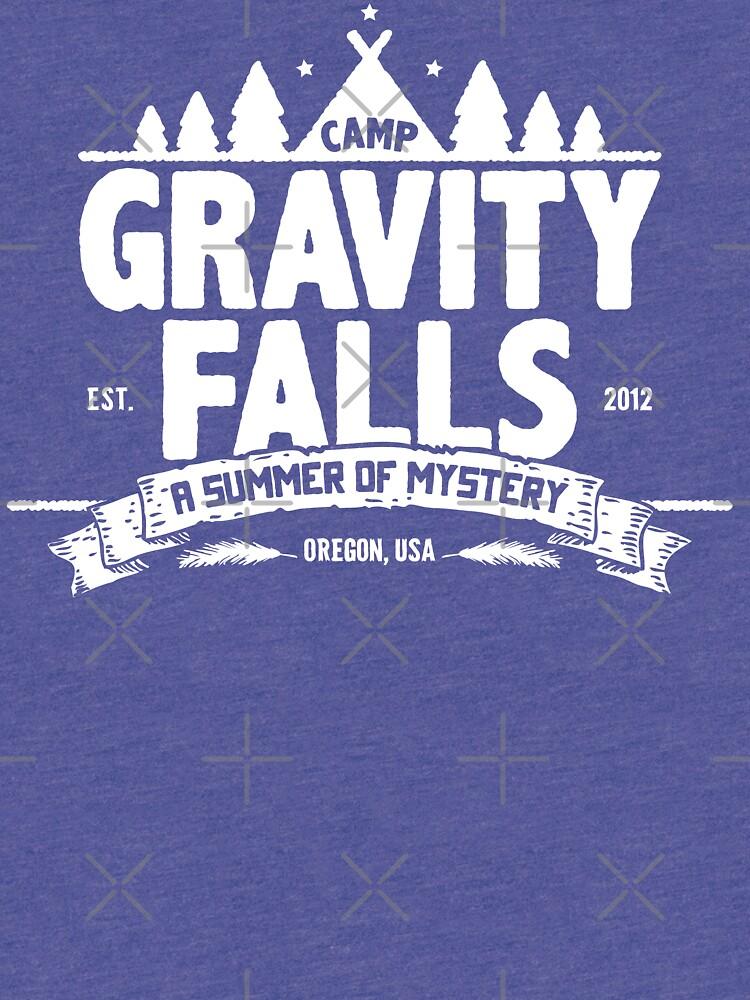 Camp Gravity Falls de KRDesign