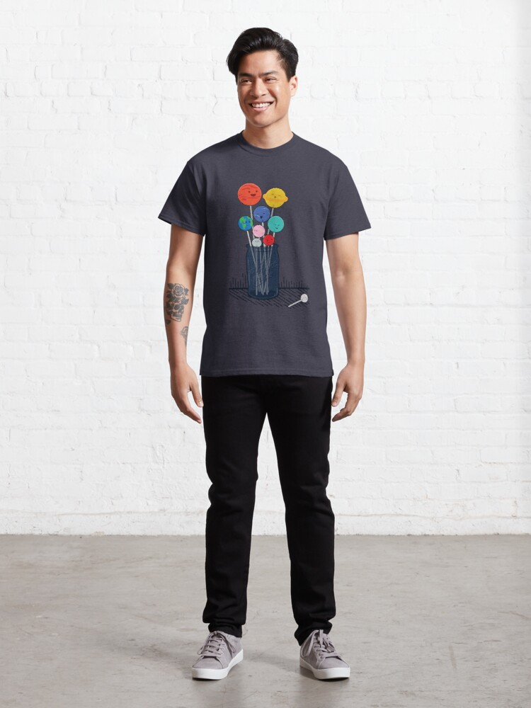 Alternate view of Planet Pops Classic T-Shirt