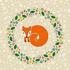 Spring Fox by Corinna Djaferis