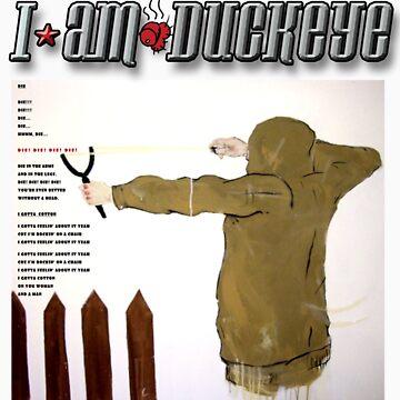 """I am Duckeye Tshirt/Hoodie/Sticker - """"Tom Sawyer DIE"""" by samsydonia"""