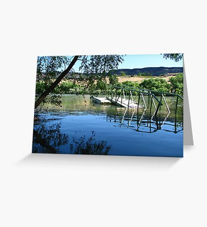 River Run's over it Greeting Card