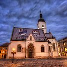 A Stormy Night in Zagreb by Conor MacNeill