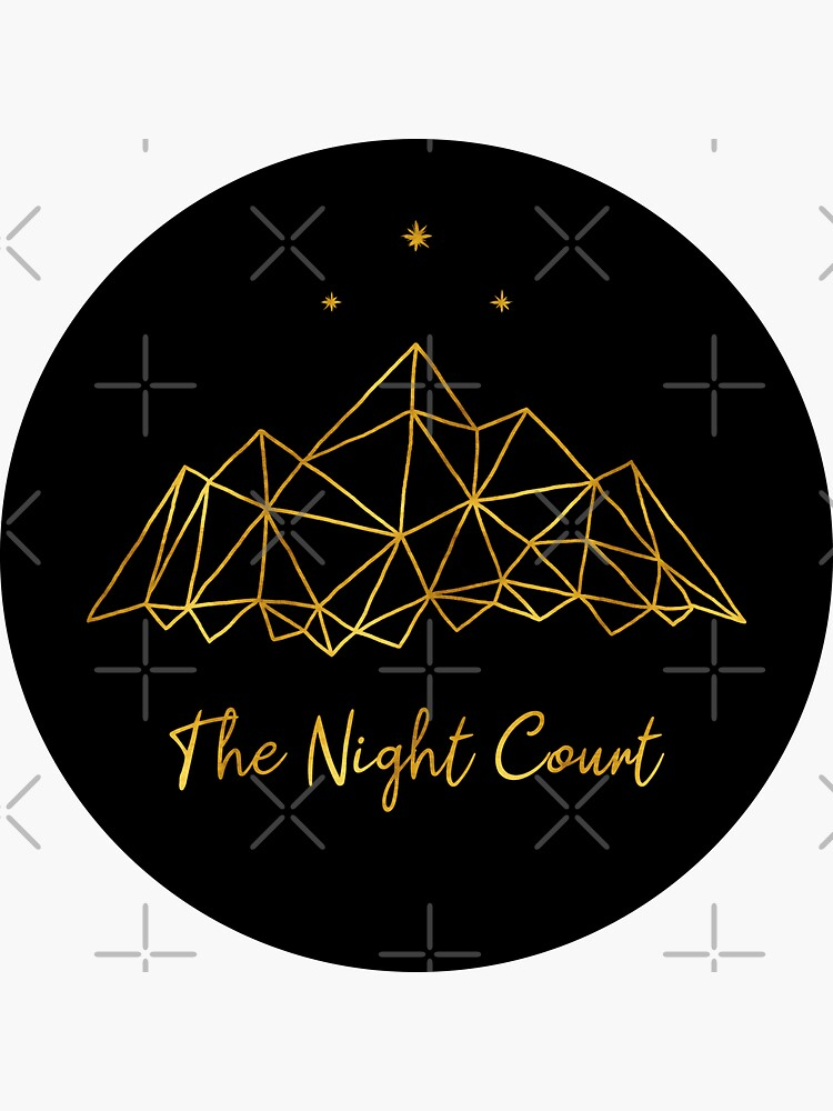 The night court - gold on black by Ranp