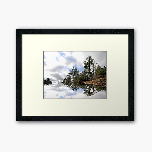 The Edge ! Framed Art Print