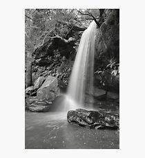 Girrakool Waterfall In Black & White Photographic Print