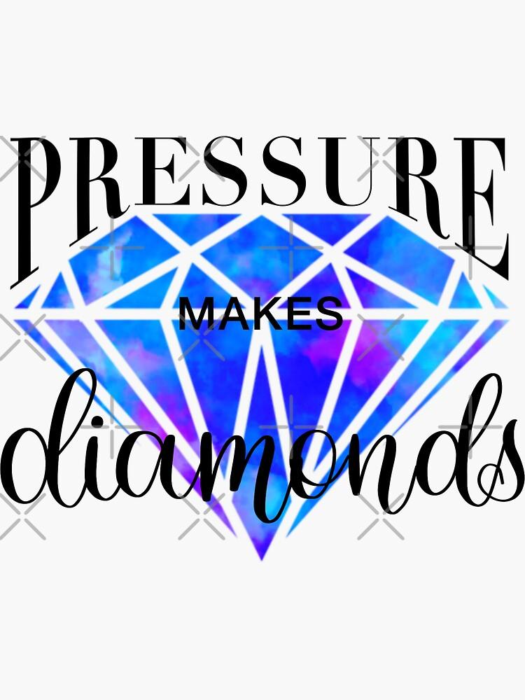 Pressure makes diamonds by CarliCreates